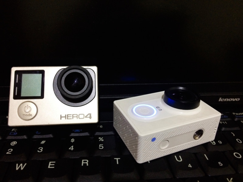 Review Action Cam Gopro hero 4 vs Xiaomi Yi Cam